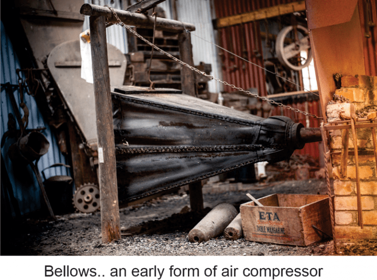 early air compressor